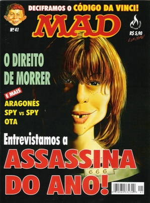 MAD Magazine #41 • Brasil • 3rd Edition - Mythos