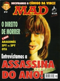 MAD Magazine #41 • Brasil • 3rd Edition - Mythos