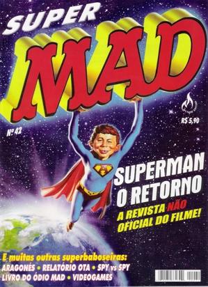 MAD Magazine #42 • Brasil • 3rd Edition - Mythos