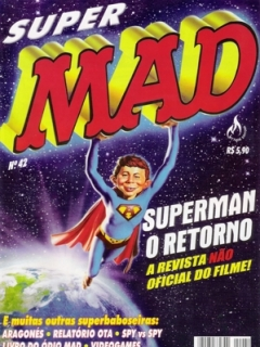 Go to MAD Magazine #42 • Brasil • 3rd Edition - Mythos