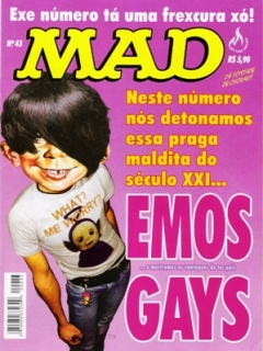 Go to MAD Magazine #43 • Brasil • 3rd Edition - Mythos