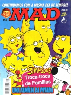 MAD Magazine #45 • Brasil • 3rd Edition - Mythos