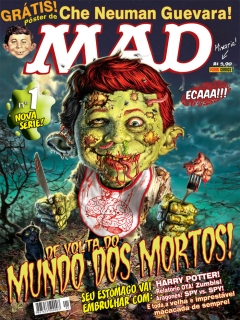 Go to MAD Magazine #1 • Brasil • 4th Edition - Panini