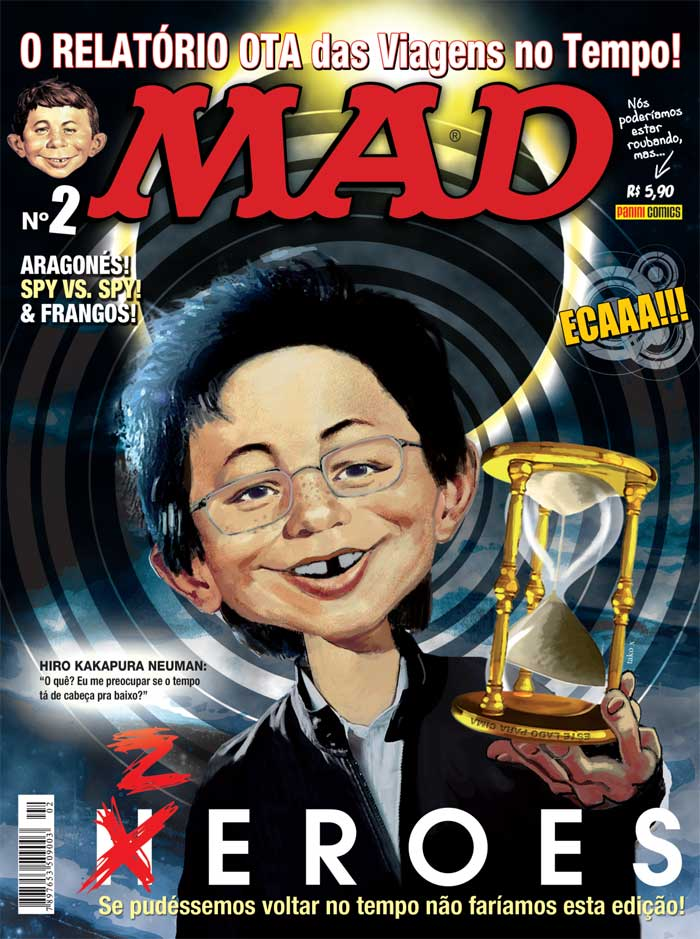MAD Magazine #2 • Brasil • 4th Edition - Panini