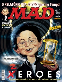 Go to MAD Magazine #2 • Brasil • 4th Edition - Panini