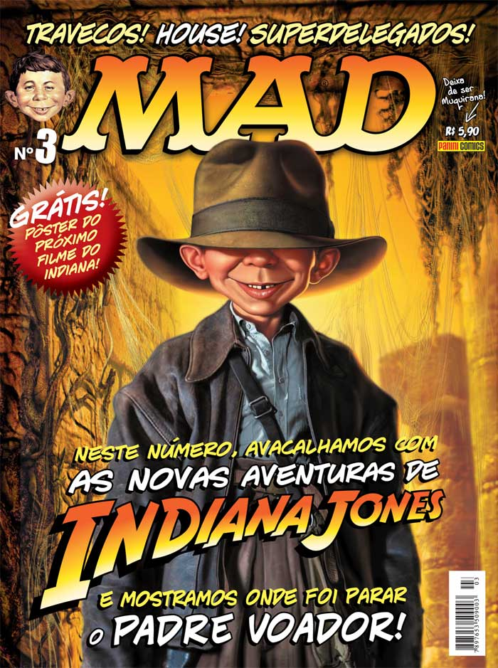 MAD Magazine #3 • Brasil • 4th Edition - Panini