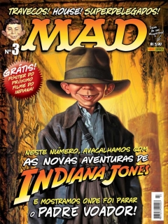 Go to MAD Magazine #3 • Brasil • 4th Edition - Panini