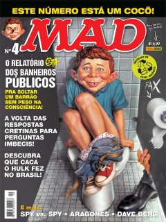 MAD Magazine #4 • Brasil • 4th Edition - Panini