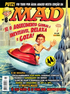 Go to MAD Magazine #6 • Brasil • 4th Edition - Panini