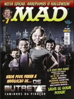 Go to MAD Magazine #7 • Brasil • 4th Edition - Panini