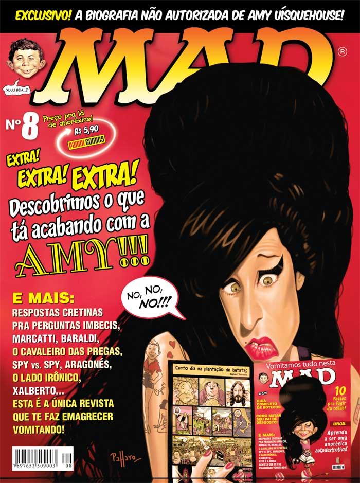 MAD Magazine #8 • Brasil • 4th Edition - Panini