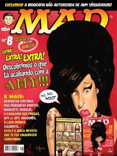 Go to MAD Magazine #8 • Brasil • 4th Edition - Panini