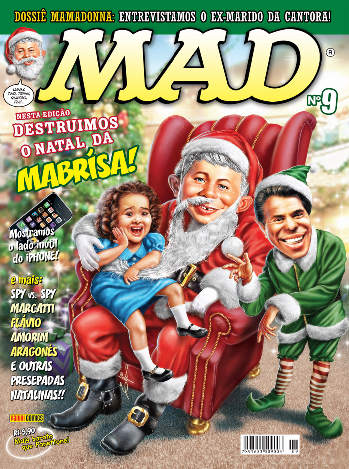 MAD Magazine #9 • Brasil • 4th Edition - Panini