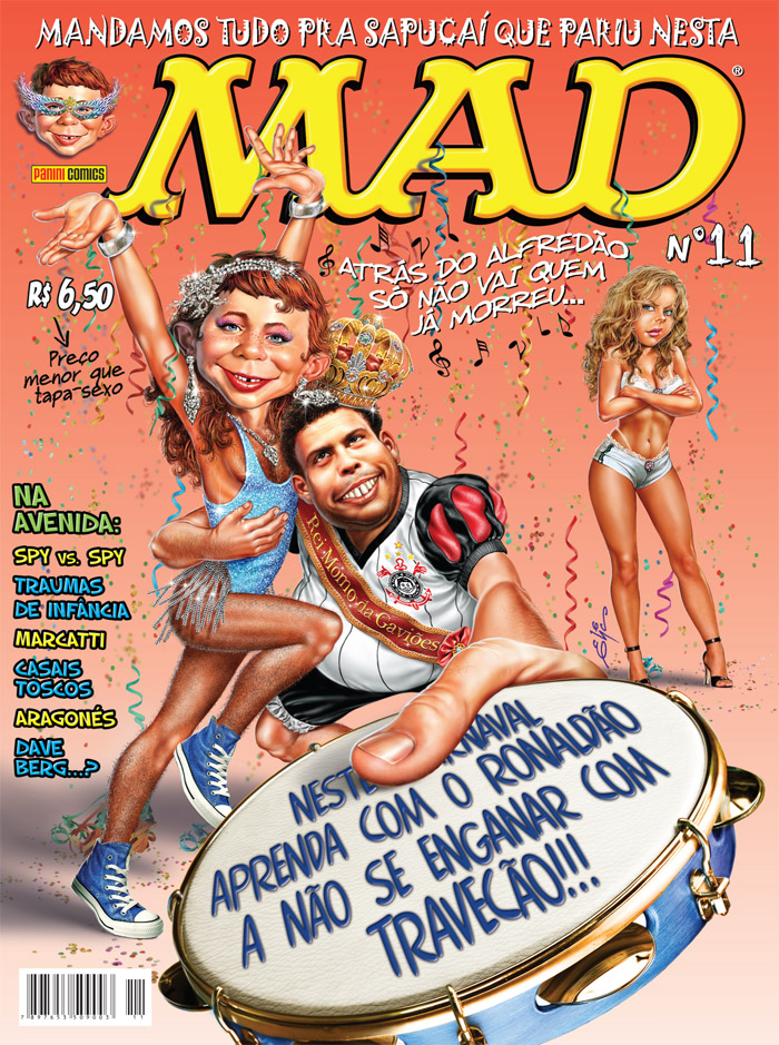 MAD Magazine #11 • Brasil • 4th Edition - Panini