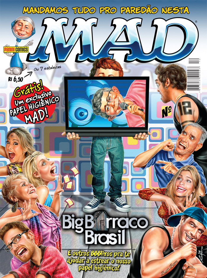 MAD Magazine #12 • Brasil • 4th Edition - Panini