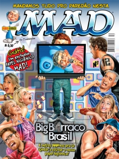Go to MAD Magazine #12 • Brasil • 4th Edition - Panini