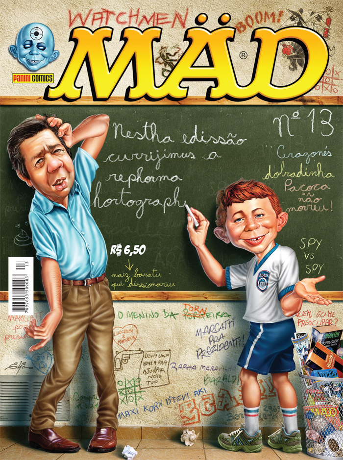 MAD Magazine #13 • Brasil • 4th Edition - Panini