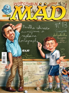 Go to MAD Magazine #13 • Brasil • 4th Edition - Panini