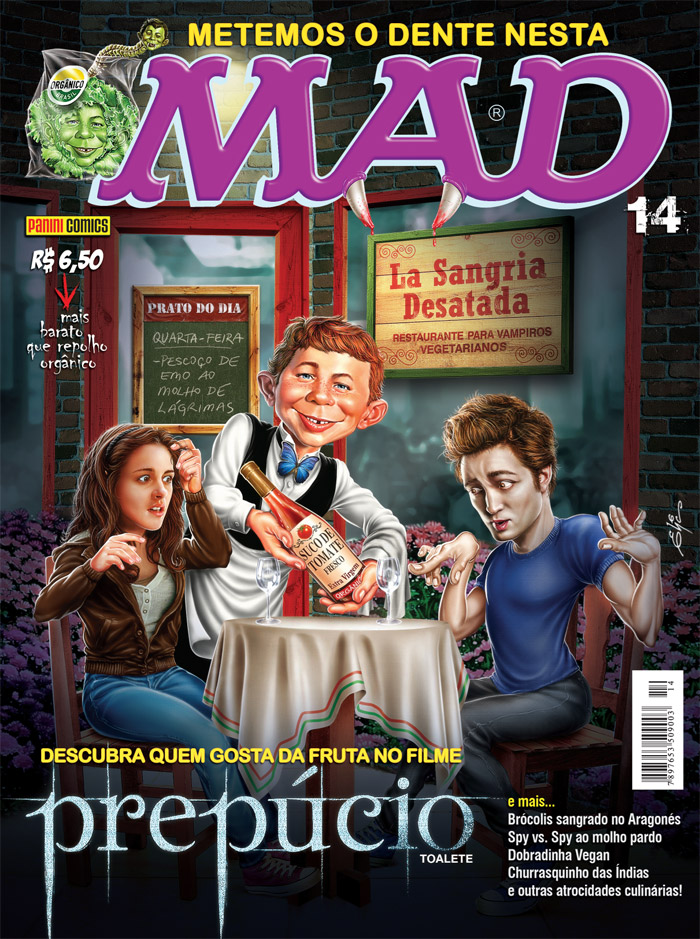 MAD Magazine #14 • Brasil • 4th Edition - Panini