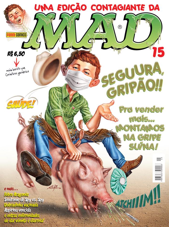 MAD Magazine #15 • Brasil • 4th Edition - Panini