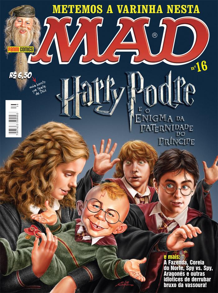MAD Magazine #16 • Brasil • 4th Edition - Panini