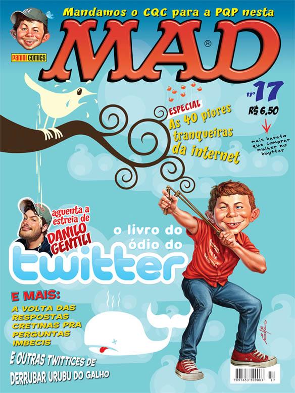MAD Magazine #17 • Brasil • 4th Edition - Panini