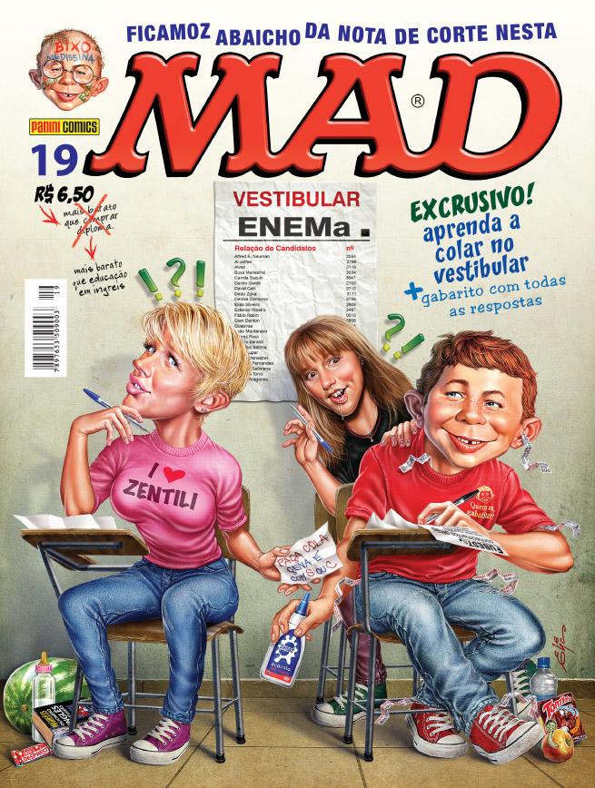 MAD Magazine #19 • Brasil • 4th Edition - Panini