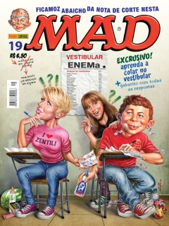 Go to MAD Magazine #19 • Brasil • 4th Edition - Panini