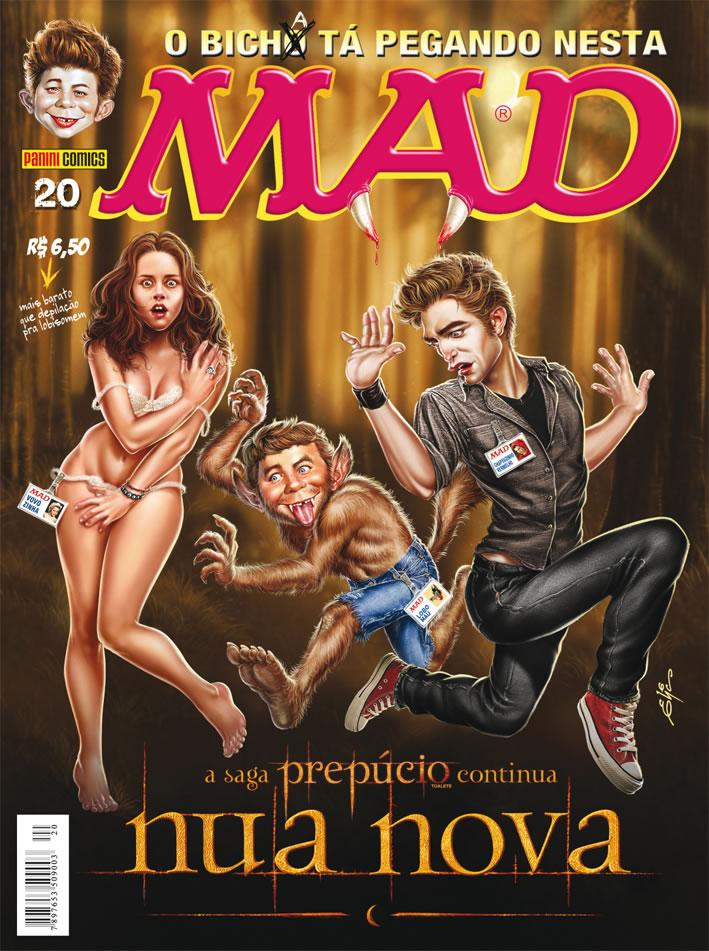 MAD Magazine #20 • Brasil • 4th Edition - Panini