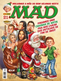 MAD Magazine #21 • Brasil • 4th Edition - Panini