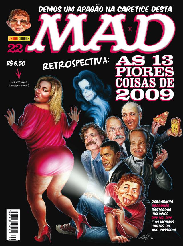 MAD Magazine #22 • Brasil • 4th Edition - Panini