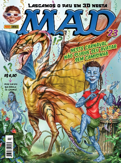 MAD Magazine #23 • Brasil • 4th Edition - Panini