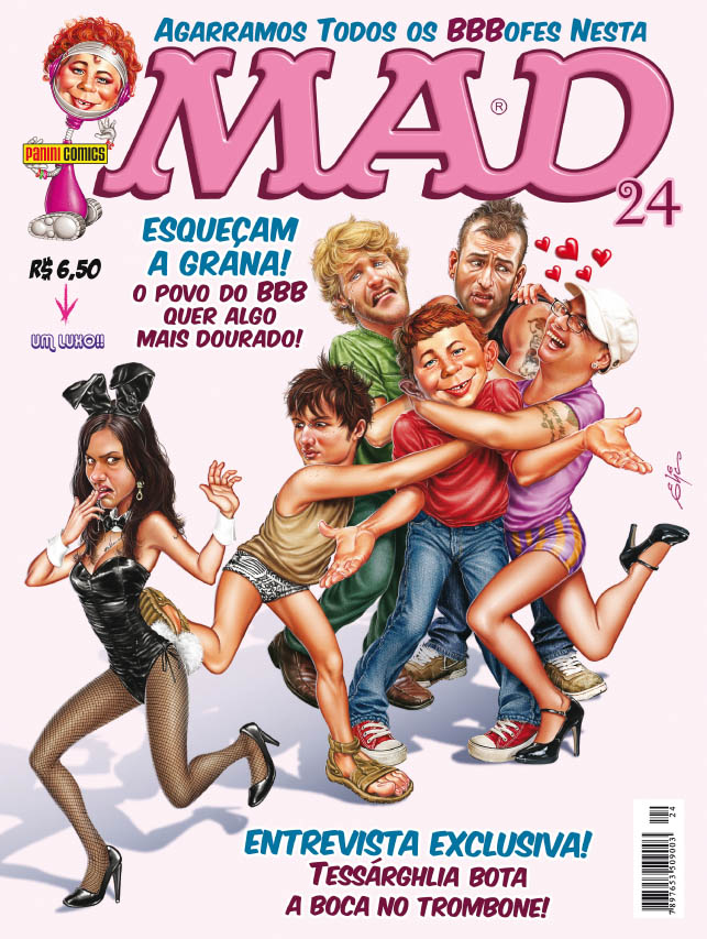 MAD Magazine #24 • Brasil • 4th Edition - Panini