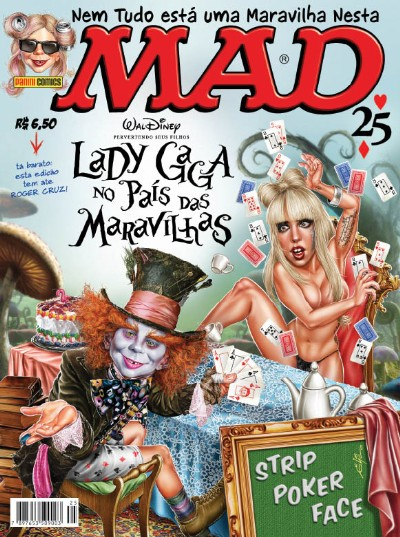 MAD Magazine #25 • Brasil • 4th Edition - Panini