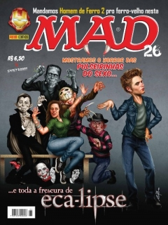 MAD Magazine #26 • Brasil • 4th Edition - Panini
