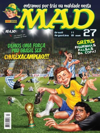MAD Magazine #27 • Brasil • 4th Edition - Panini