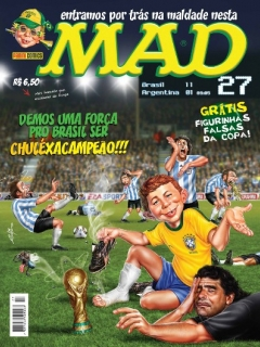 Go to MAD Magazine #27 • Brasil • 4th Edition - Panini