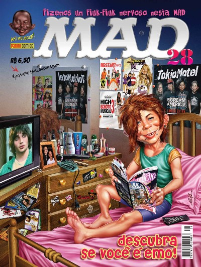 MAD Magazine #28 • Brasil • 4th Edition - Panini