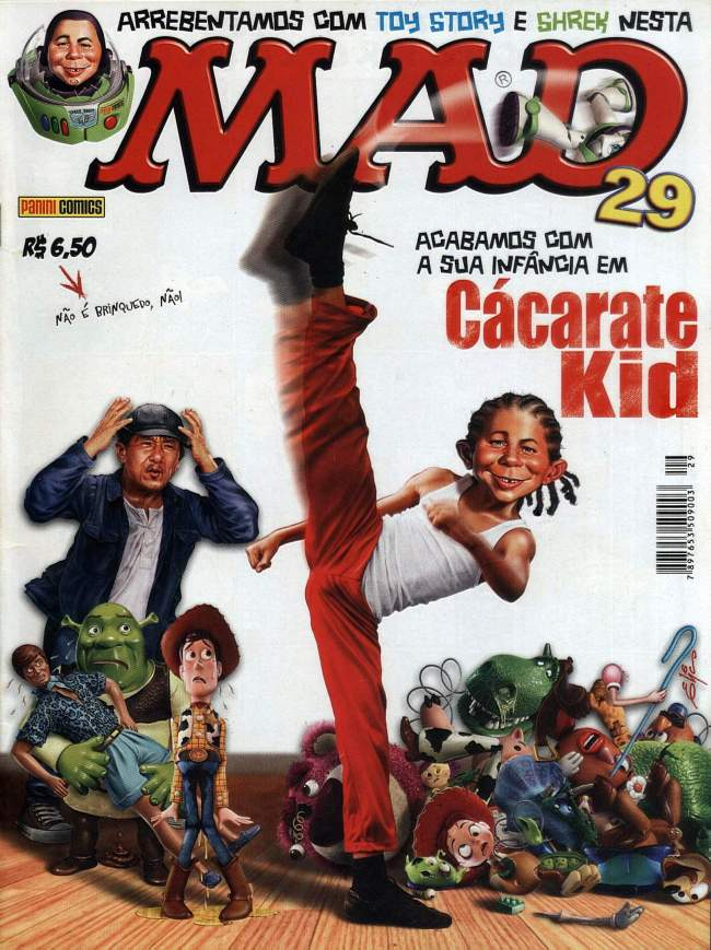 MAD Magazine #29 • Brasil • 4th Edition - Panini