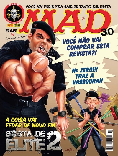 MAD Magazine #30 • Brasil • 4th Edition - Panini