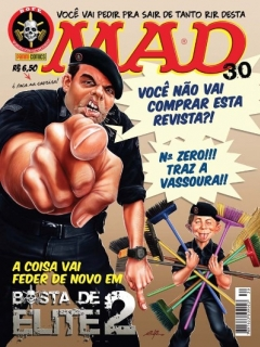 Go to MAD Magazine #30 • Brasil • 4th Edition - Panini