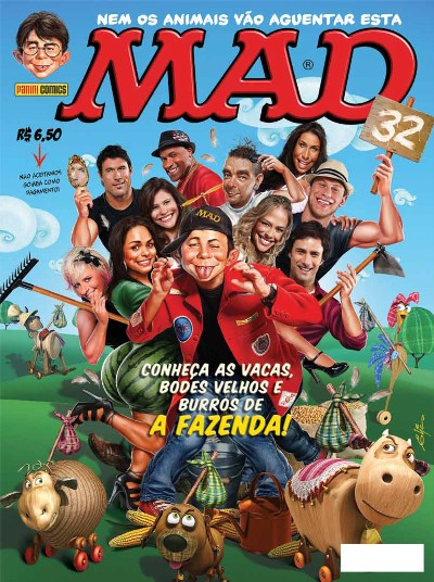 MAD Magazine #32 • Brasil • 4th Edition - Panini