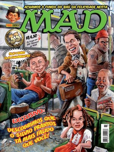 MAD Magazine #33 • Brasil • 4th Edition - Panini