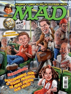 MAD Magazine #33 • Brasil • 4th Edition - Panini