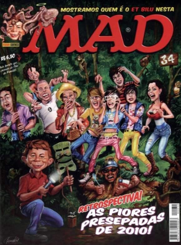 MAD Magazine #34 • Brasil • 4th Edition - Panini