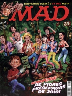Go to MAD Magazine #34 • Brasil • 4th Edition - Panini