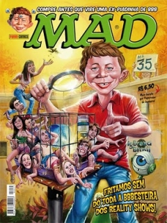 Go to MAD Magazine #35 • Brasil • 4th Edition - Panini