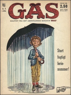 Go to MAD Magazine #3 1961 • Denmark • 1st Edition - Williams