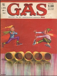 Go to MAD Magazine #1 1962 • Denmark • 1st Edition - Williams
