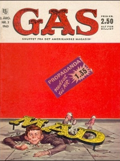 Go to MAD Magazine #2 1962 • Denmark • 1st Edition - Williams